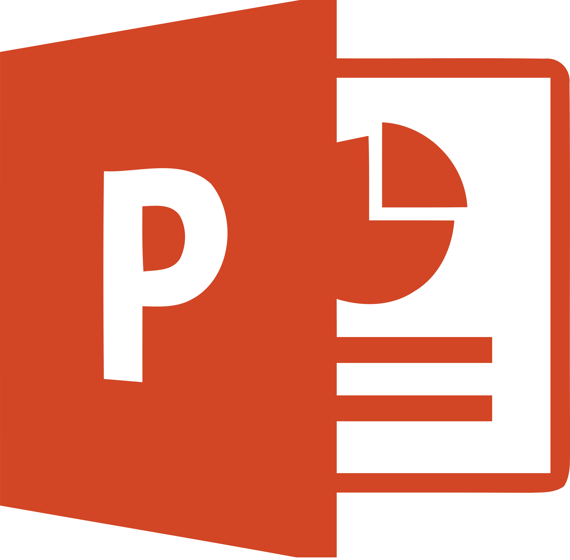 Logo Powerpoint 2016 ®Microsoft Corporation
